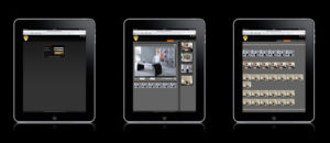 application de video surveillance pour iPad Domus Home Security